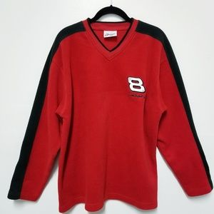 Other - 3/$15 Dale Earnhardt Jr. Fleece V-neck Pullover